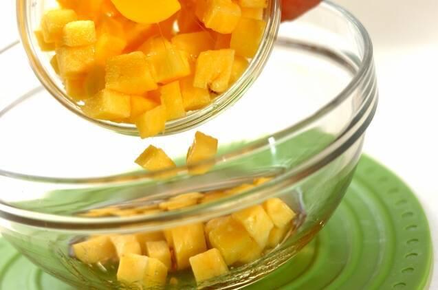 パイナップルのラム酒漬けの作り方の手順2
