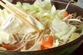 フライパンでお手軽に!鮭のちゃんちゃん焼きの作り方8