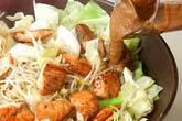 フライパンでお手軽に!鮭のちゃんちゃん焼きの作り方9