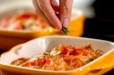 カキとトマトのチーズ焼きの作り方3