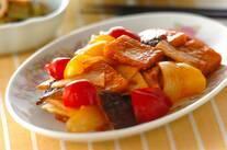 高野豆腐の酢豚風