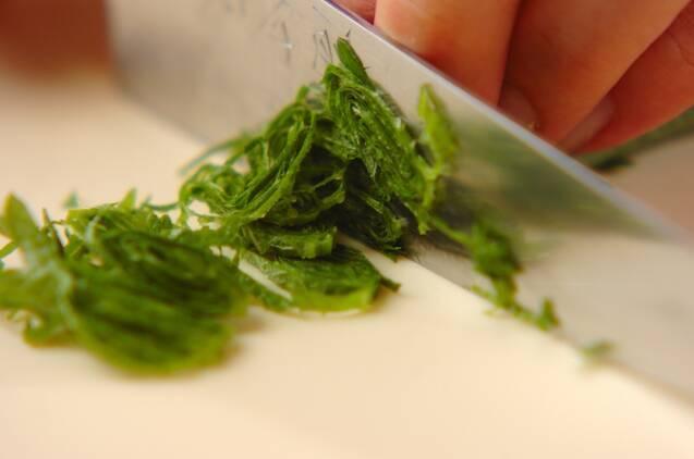 レンコンとヒジキのサラダの作り方の手順3