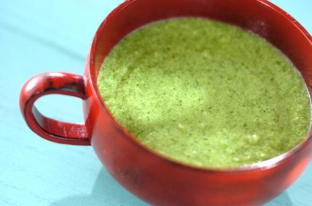 小松菜の和風スープ