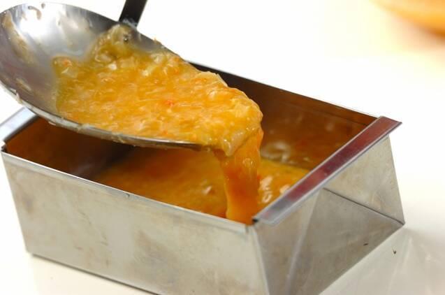 カニ入り卵蒸しの作り方の手順3