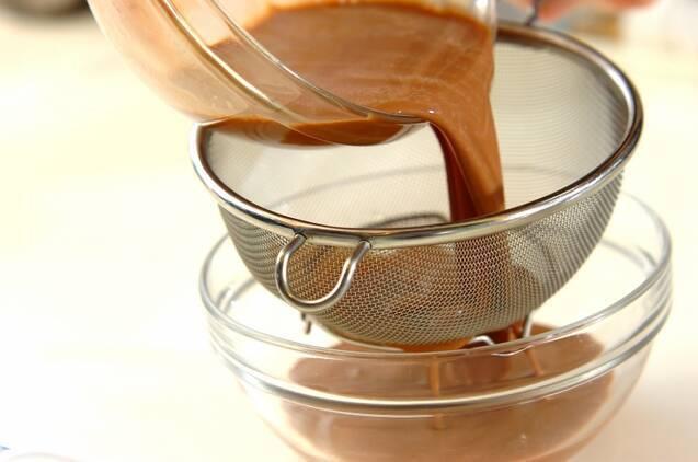 チョコプリンの作り方の手順2