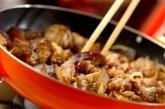 下味冷凍でナスと豚肉のみそ炒めの作り方4