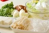 鶏の水炊き鍋の下準備2