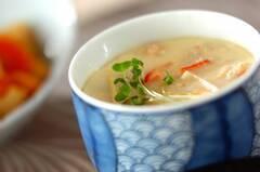 中華カニ玉風茶碗蒸し