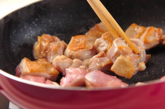 鶏の五目煮の作り方の手順4