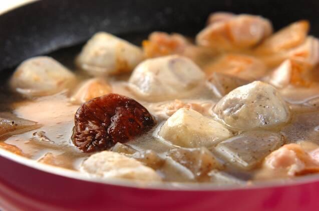 鶏の五目煮の作り方の手順5