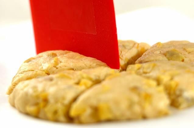 サツマイモスコーンの作り方の手順3