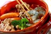 モッツァレラトマト鍋の作り方3