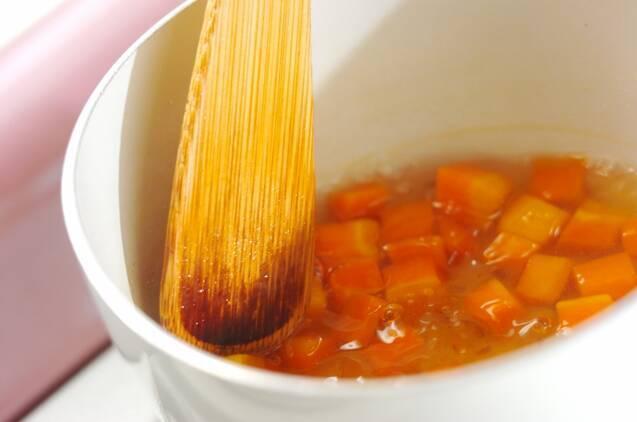 ニンジンと豆腐のテリーヌの作り方の手順3