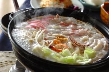ちゃんぽん風鍋