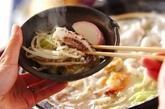 ちゃんぽん風鍋の作り方2