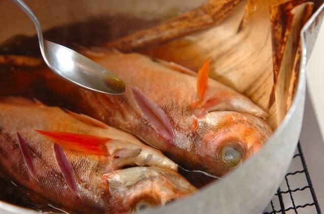 メバルとワカメの煮付けの作り方の手順6