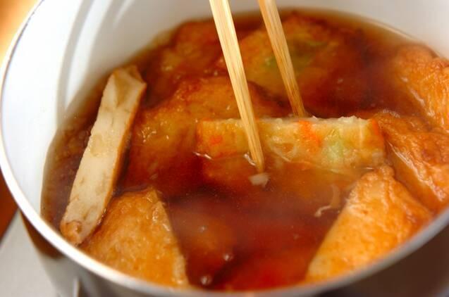 揚げ天と白菜のくったり煮の作り方の手順4