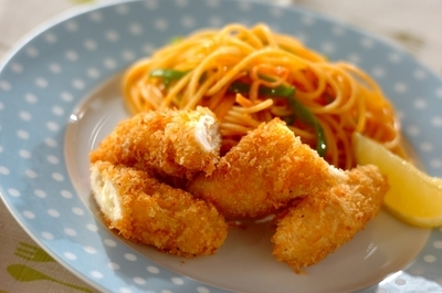 サクサクヘルシー ささ身とチーズのフライ レシピ 作り方 E レシピ 料理のプロが作る簡単レシピ
