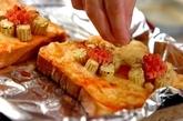 ひまわりトーストの作り方4