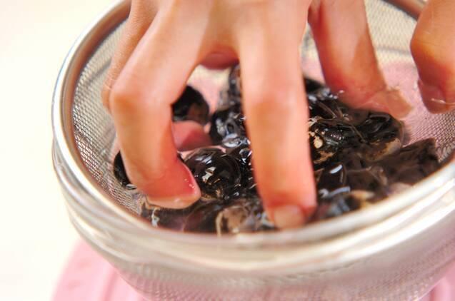 シジミのみそ汁の作り方の手順1