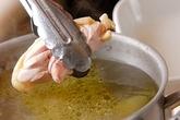 鶏の水炊きの下準備1