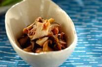 キノコとツナの佃煮