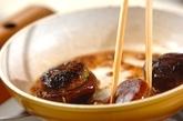 シイタケの肉詰め甘辛しょうゆ味の作り方3