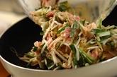 豚バラとモヤシのチヂミの作り方2