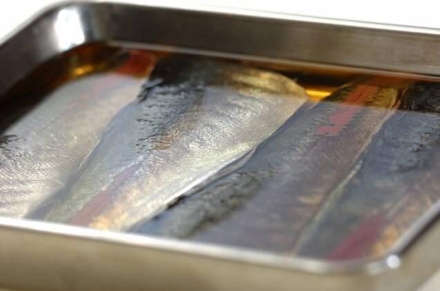 アジの酢〆ご飯の作り方の手順2