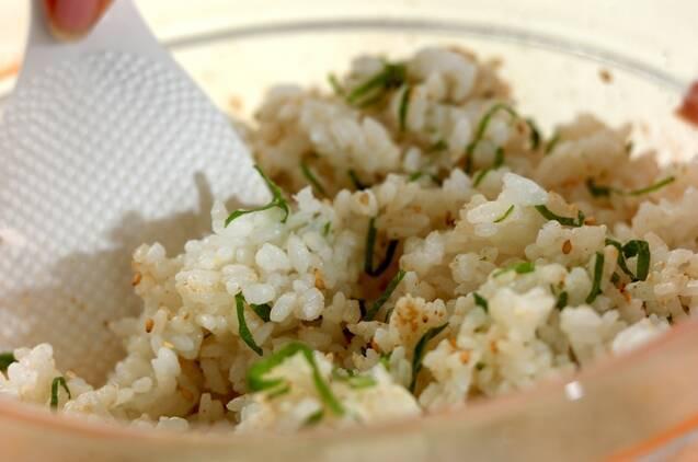 アジの酢〆ご飯の作り方の手順5