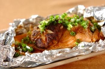鮭のバターしょうゆ焼き