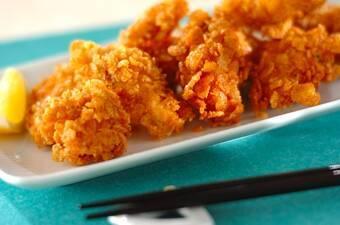 鶏むね肉のカリカリ揚げ