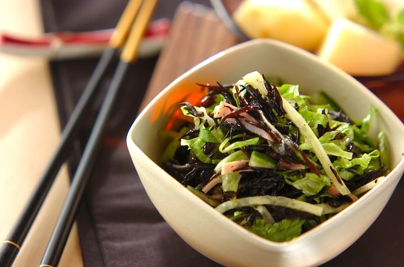 ヒジキの中華サラダ