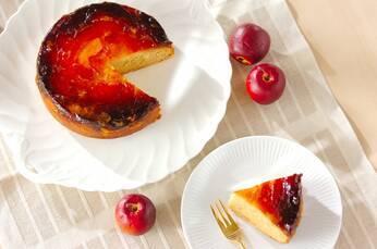 リンゴのアップサイドダウンケーキ