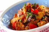 チキンと夏野菜のトマト煮の作り方5