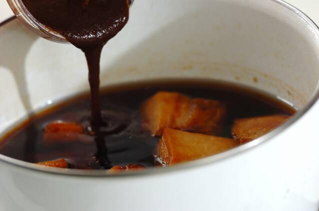 米ぬかで下茹で!トロトロ豚の角煮の作り方の手順7