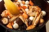 手羽先と野菜の煮物の作り方8