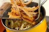おあげとキャベツの煮びたしの作り方3