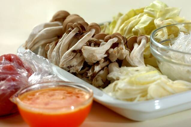 鶏と春雨の酸味スープの作り方の手順3