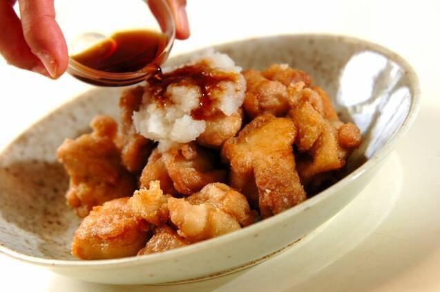さわやかおろしポン酢でいただく鶏のサクッと竜田揚げの作り方の手順3