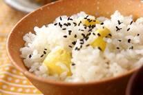栗ご飯・もち米入り