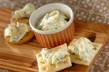 クリームチーズのオードブル