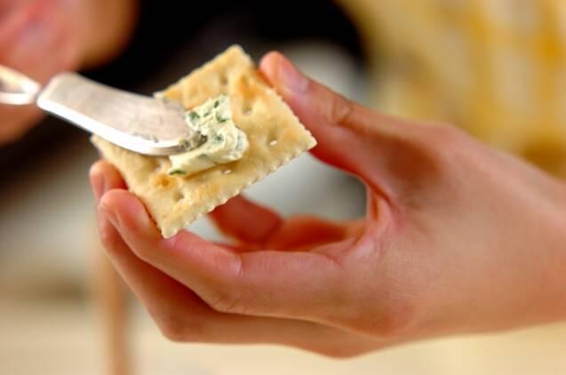 クリームチーズのオードブルの作り方の手順2
