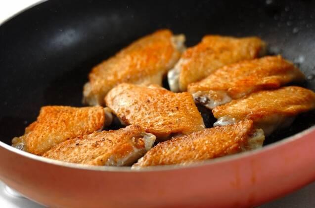 鶏手羽の中華煮込みの作り方の手順3