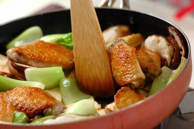 鶏手羽の中華煮込みの作り方の手順4