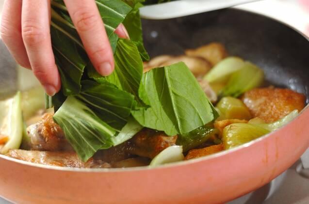 鶏手羽の中華煮込みの作り方の手順5