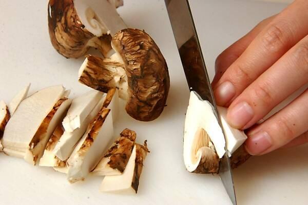 秋のごちそう 松茸ご飯の作り方の手順6