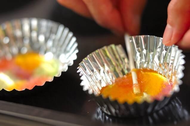 ステンドグラスキャンディの作り方の手順4