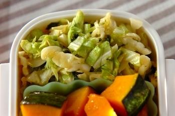 キャベツと大葉のサラダ