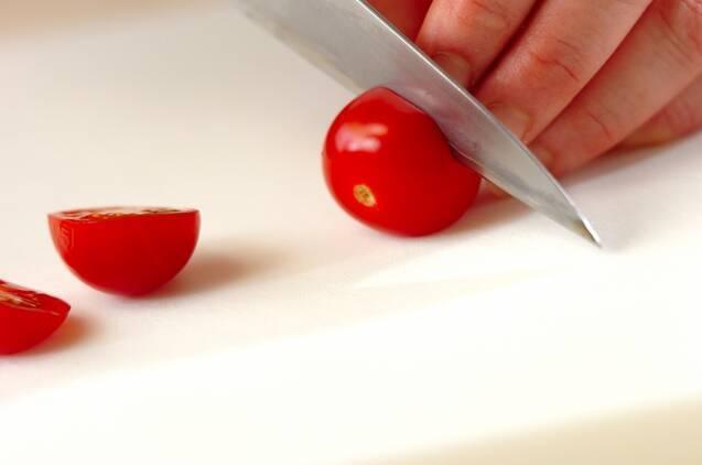 ズッキーニのサラダの作り方の手順2